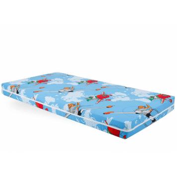 Saltea Somnart Ortopedica cu husa protectie pentru bebelusi si copii, inaltime 10 cm
