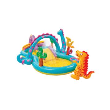 Piscina gonflabila Intex - Dinoland, 330 x 229 x 112 cm