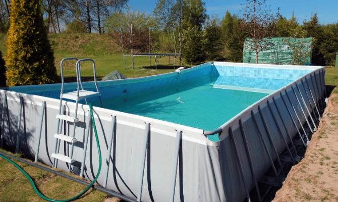 piscina supraterana cadre